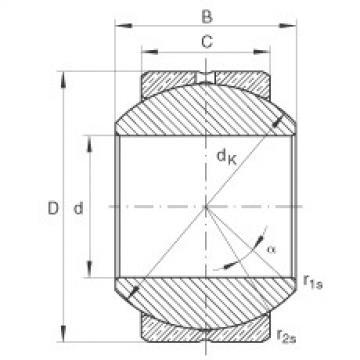 FAG Radial spherical plain bearings - GE18-PB