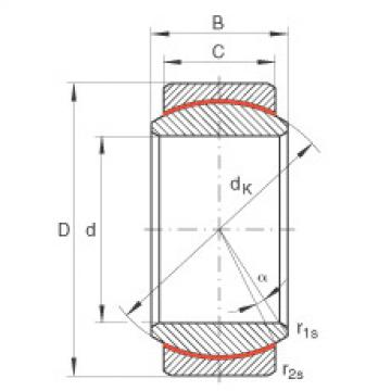 FAG Radial spherical plain bearings - GE17-UK
