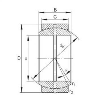 FAG Radial spherical plain bearings - GE16-DO