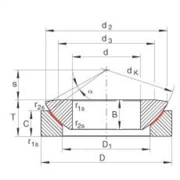 FAG Axial spherical plain bearings - GE17-AW