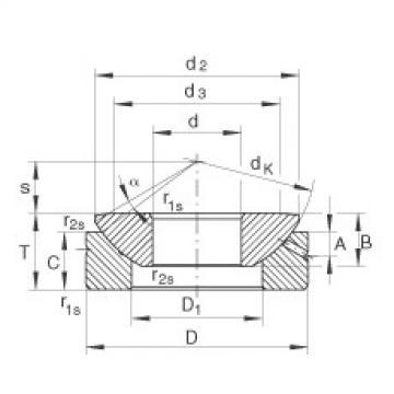 FAG Axial spherical plain bearings - GE15-AX