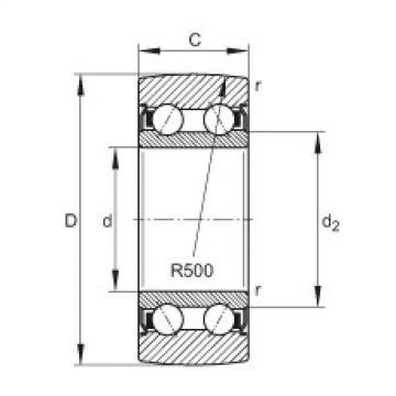FAG بكرات الجنزير - LR5203-2Z-TVH-XL