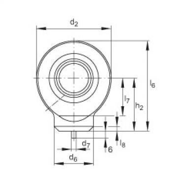 FAG Hydraulic rod ends - GK17-DO