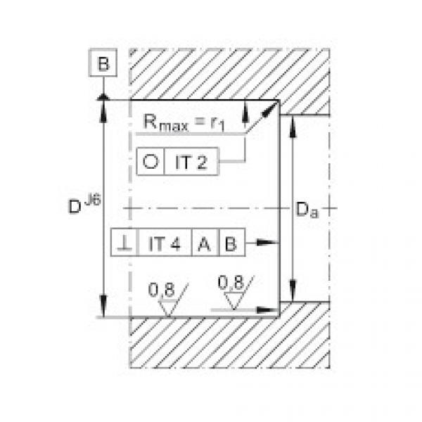 FAG محوري الزاوي الاتصال الكرات - ZKLN1545-2RS-XL #2 image