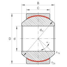 FAG Radial spherical plain bearings - GE16-PW