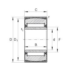 FAG محاذاة إبرة محامل - PNA25/47-XL