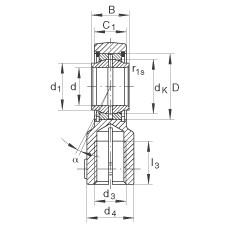FAG Hydraulic rod ends - GIHNRK32-LO