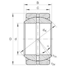 FAG Radial spherical plain bearings - GE22-ZO