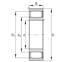 FAG محامل حلقية - C4013-XL-V