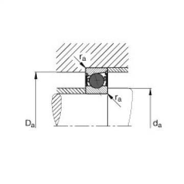 FAG محامل المغزل - HCB7004-E-2RSD-T-P4S