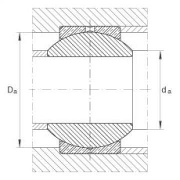 FAG Radial spherical plain bearings - GE14-PB