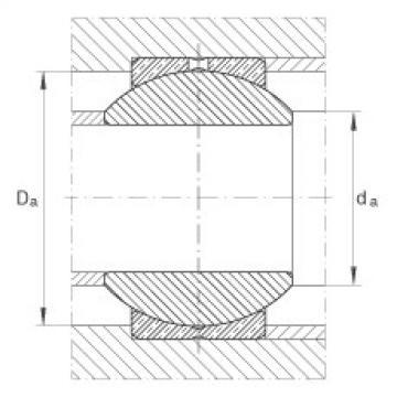 FAG Radial spherical plain bearings - GE22-PB