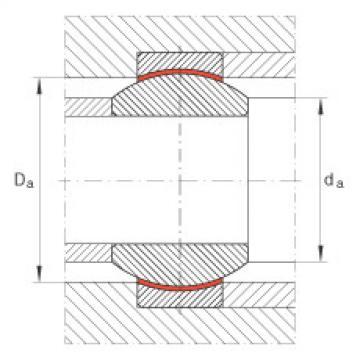FAG Radial spherical plain bearings - GE25-FW