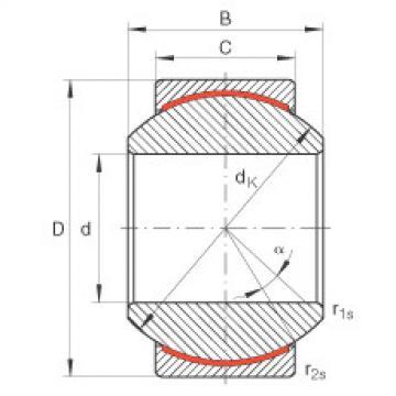 FAG Radial spherical plain bearings - GE18-PW