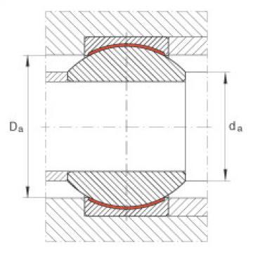FAG Radial spherical plain bearings - GE25-PW