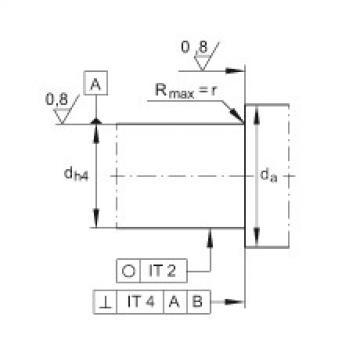 FAG Angular contact ball bearing units - ZKLFA1563-2RS