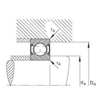 FAG الأخدود العميق الكرات - 6002-C-2Z