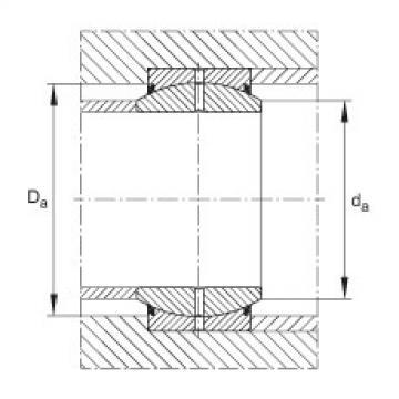 FAG Radial spherical plain bearings - GE20-DO