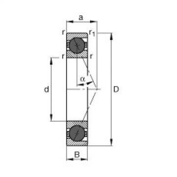 FAG محامل المغزل - HCB7207-E-T-P4S