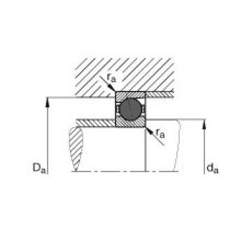 FAG محامل المغزل - HCB7207-C-T-P4S