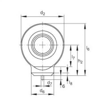FAG Hydraulic rod ends - GK15-DO