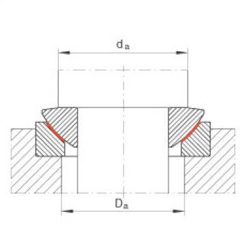 FAG Axial spherical plain bearings - GE20-AW