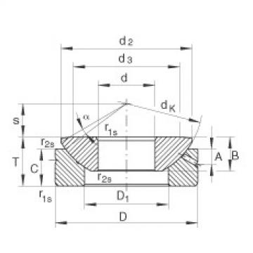 FAG Axial spherical plain bearings - GE30-AX