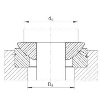 FAG Axial spherical plain bearings - GE60-AX