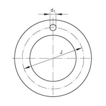 FAG Thrust washers - EGW26-E40-B