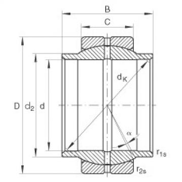 FAG Radial spherical plain bearings - GE20-LO