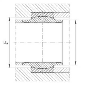 FAG Radial spherical plain bearings - GE16-LO