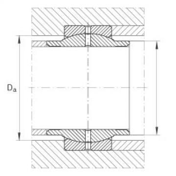 FAG Radial spherical plain bearings - GE70-LO