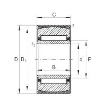 FAG محاذاة إبرة محامل - PNA17/35-XL