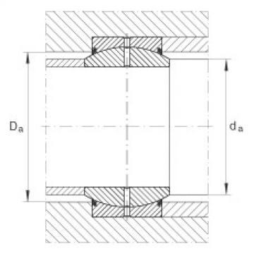 FAG Radial spherical plain bearings - GE17-DO-2RS