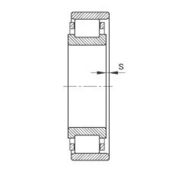 FAG محامل أسطوانية - N205-E-XL-TVP2