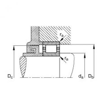 FAG محامل أسطوانية - N214-E-XL-TVP2