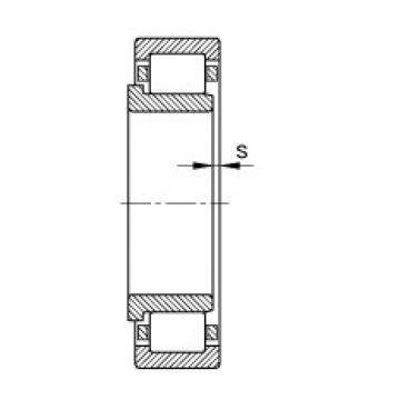 FAG محامل أسطوانية - NJ406-XL-M1