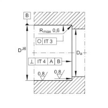 FAG إبرة بكرة / محوري أسطواني محامل - ZARN3080-L-TV