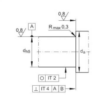 FAG إبرة بكرة / محوري أسطواني محامل - ZARN70130-L-TV