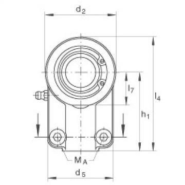 FAG Hydraulic rod ends - GIHNRK16-LO