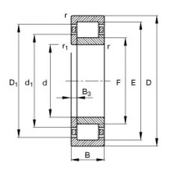 FAG محامل أسطوانية - NUP2304-E-XL-TVP2
