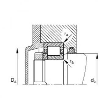 FAG محامل أسطوانية - NUP2203-E-XL-TVP2