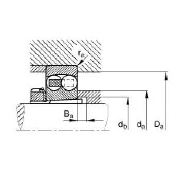 FAG الذاتي محاذاة الكرات - 1204-K-TVH-C3 + H204