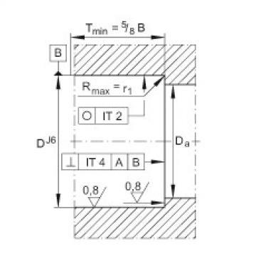 FAG محوري الزاوي الاتصال الكرات - ZKLF3080-2RS-2AP-XL