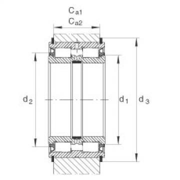 FAG محامل أسطوانية - SL045005-PP
