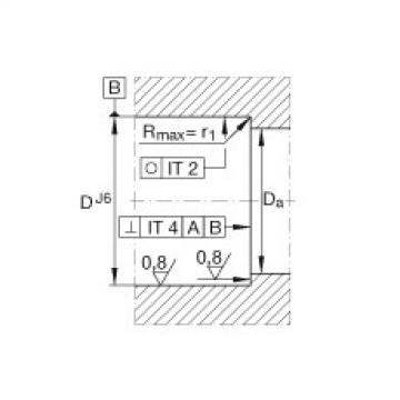 FAG محوري الزاوي الاتصال الكرات - BSB2047-SU-L055