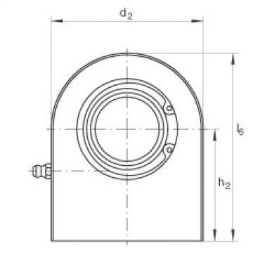 FAG Hydraulic rod ends - GF25-DO