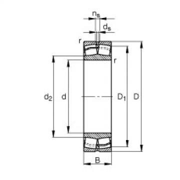FAG محامل كروية - 21304-E1-XL-TVPB