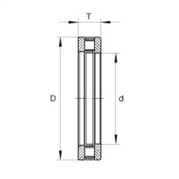 FAG محوري أسطواني محامل - RT604