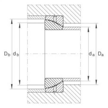FAG Angular contact spherical plain bearings - GE25-SX